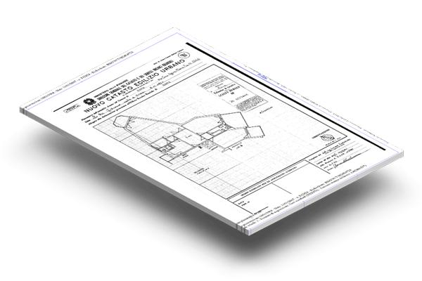 rasterizzazione planimetria catastale